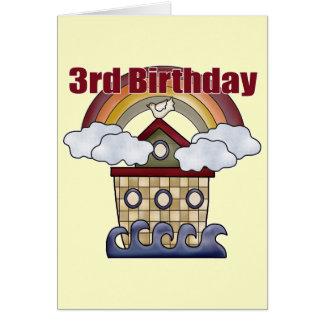 Arche-3. Geburtstags-Geschenke Karte