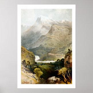 Archivalischer Druck S Mount Kosciuszko Australien Poster