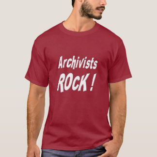 Archivar-Felsen! T - Shirt