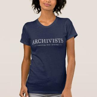 Archivar-lustiges Sprichwort T-Shirt