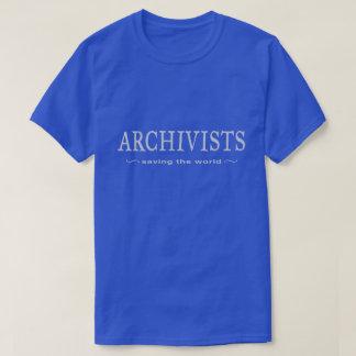 Archivare - Retten der Welt T-Shirt