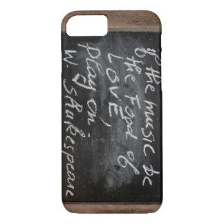 Ardoise W Shakespeares Zitat iPhone Fall iPhone 8/7 Hülle