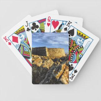 Areosa Festung Bicycle Spielkarten