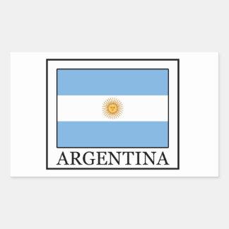 Argentinien-Aufkleber Rechteckiger Aufkleber