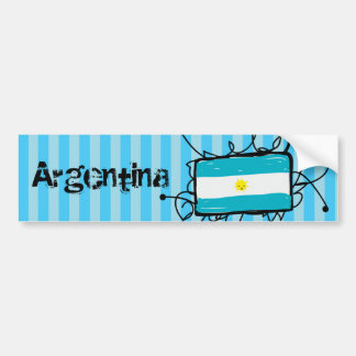 Argentinien Autoaufkleber