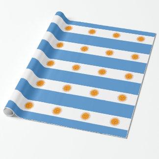 Argentinien Einpackpapier