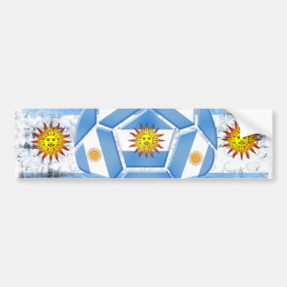Argentinien-Flagge Autoaufkleber
