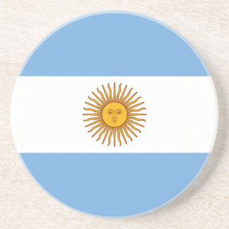 Argentinien-Flagge Bierdeckel