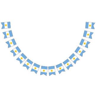 Argentinien-Flagge Wimpelketten