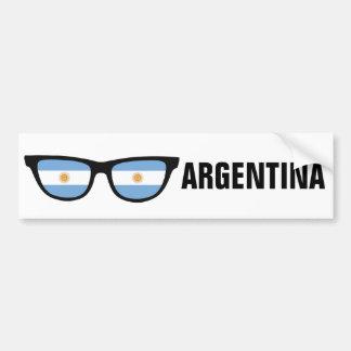 Argentinien schattiert kundenspezifischen Text- u. Autoaufkleber
