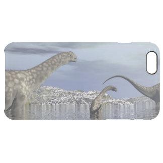Argentinosaurusdinosaurierfamilie Durchsichtige iPhone 6 Plus Hülle