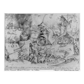 Ärger, 1557 postkarte