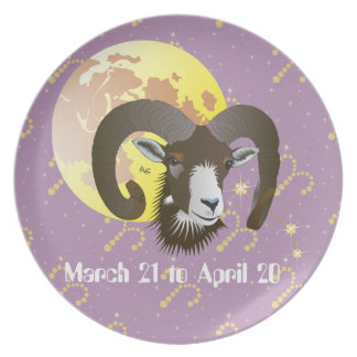 Aries March 21 to April 20 Plates Teller