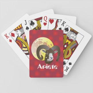 Ariete 21 marzo al 20 aprile Giochi di carte Spielkarten
