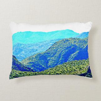 Arizona-Berge im blauen Kissen