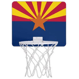 Arizona-Flagge Mini Basketball Ringe