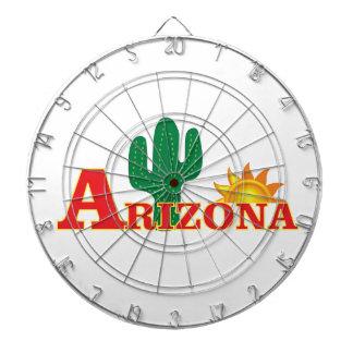 Arizona-Logo einfach Dartscheibe