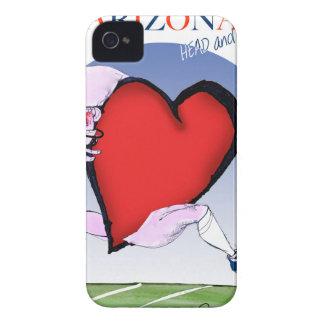 Arizonahauptherz, tony fernandes iPhone 4 Case-Mate hülle