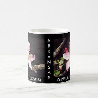 Arkansas Apple blühen Kaffeetasse