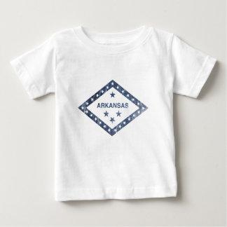 Arkansas-Flagge Baby T-shirt