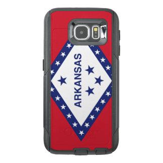 Arkansas-Flagge Otterbox Samsung Kasten Galaxie-S6