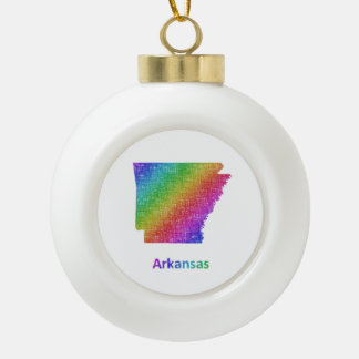 Arkansas Keramik Kugel-Ornament