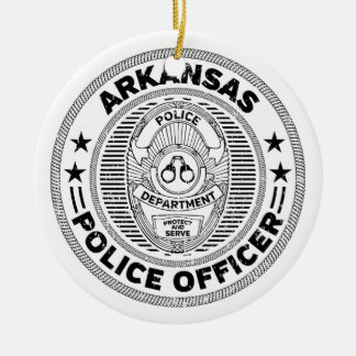 Arkansas-Polizeibeamte Keramik Ornament