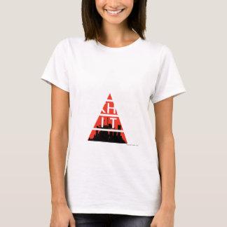 Arkham Stadt-Logo-Weiß T-Shirt
