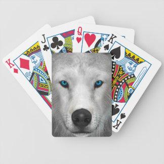 Arktischer Wolf Poker Karten