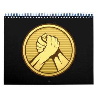 Arm-Wrestling Gold Kalender