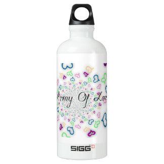 Armee der Liebe Wasserflasche