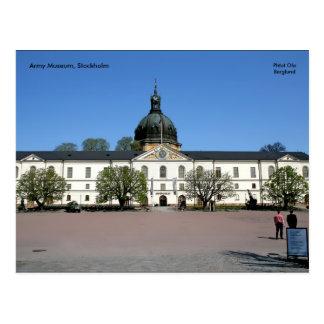 Armee-Museum, Stockholm, Phtot Ola… Postkarte