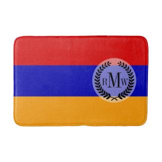 Armenische Flagge Badematte