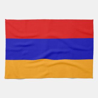 Armenische Flagge Handtücher