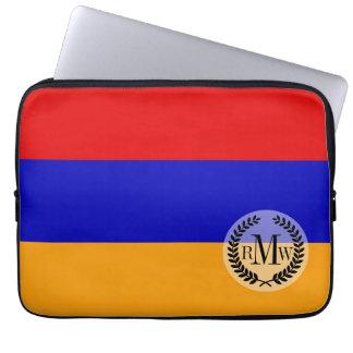 Armenische Flagge Laptop Sleeve
