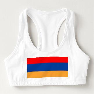 Armenische Flagge Sport-BH