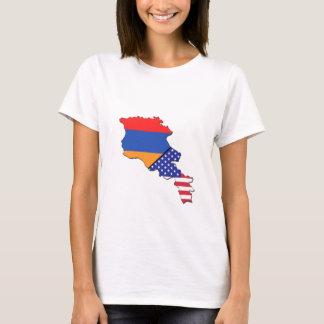 Armenische Flagge T-Shirt