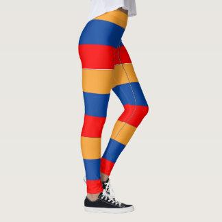 Armenische Flaggenentwurfs-Mustergamaschen Leggings
