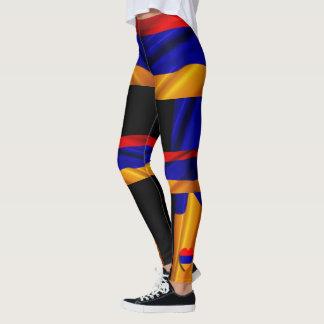 Armenische Flaggengamaschen 2 Leggings