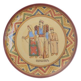 Armenischer Tracerygroßer Teller