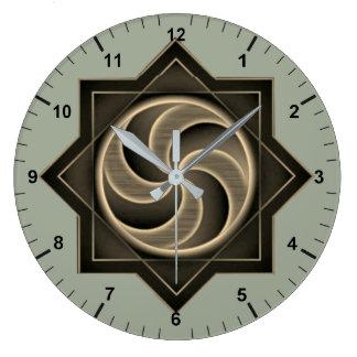 Armenisches Ewigkeitszeichen-Uhr հավերժությաննշան Wanduhren
