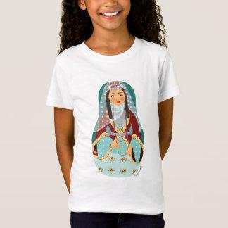 Armenisches Mädchen Matryoshka Mädchen-Baby - T-Shirt