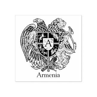 Armenisches Wappen personifizieren Gummistempel