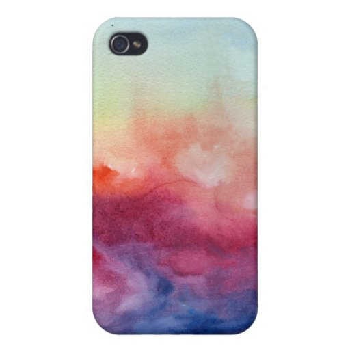 Arpeggi-Aquarell Iphone Fall iPhone 4 Etuis