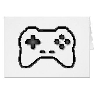 Art des Spiel-Prüfer-Schwarz-weiße Videospiel-8bit Karte