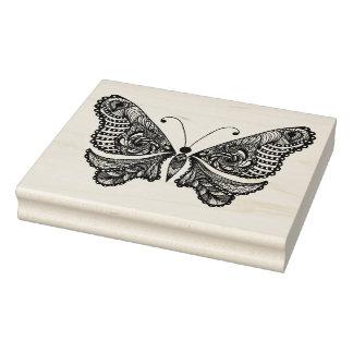 Art-Schmetterling Gummistempel