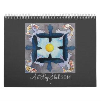 ArtByShel 2014 Abreißkalender