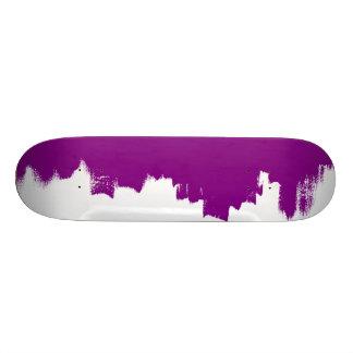 Artistic purple texture/Tabelle des Skateboards Personalisiertes Skateboard
