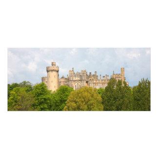 Arundel-Schloss-Name-Lesezeichen, Geschäftskarte Bedruckte Werbekarte