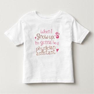 Arzt-behilflicher (zukünftiger) Säuglings-Baby-T - Kleinkinder T-shirt
